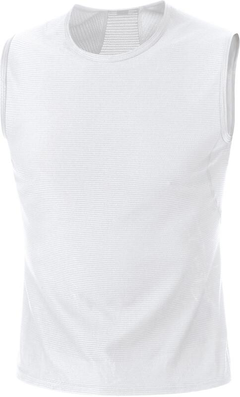 GORE WEAR M Base Layer Sleevless Shirt Men white L 2019 Accessoires