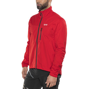 GORE WEAR C3 Gore-Tex Active Jacke Herren red red