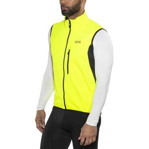 GORE WEAR C3 Gore Windstopper Vest Herrer, neon yellow/black neon yellow/black