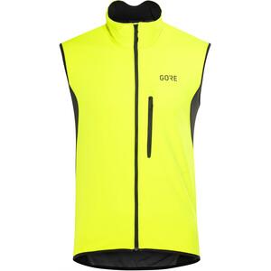 GORE WEAR C3 Gore Windstopper Weste Herren neon yellow/black neon yellow/black