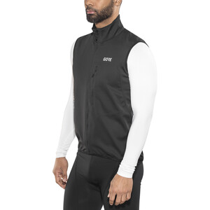 GORE WEAR C3 Gore Windstopper Weste Herren black black