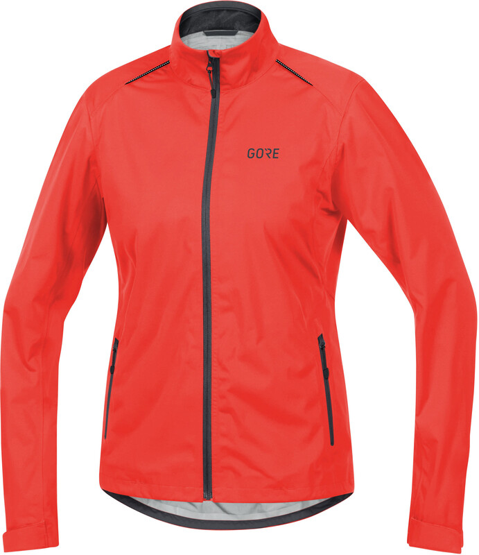 C3 Gore-Tex Active Jacket Women lumi orange/terra grey 36 2018 Rennrad Jacken