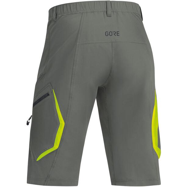 GORE WEAR C3 Trail Shorts Herren castor grey
