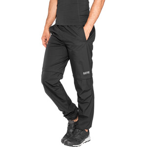 GORE WEAR R3 Gore Windstopper Zip-Off Pants Men black black