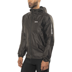 GORE WEAR R7 Gore-Tex Shakedry Hooded Jacket Herr black black