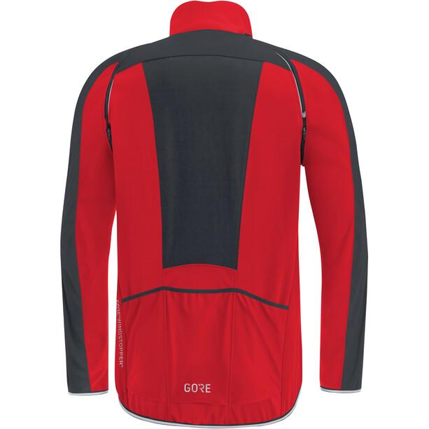 GORE WEAR C3 Windstopper Phantom Zip-Off Jacke Herren red/black