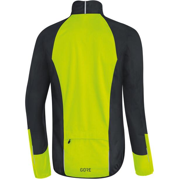 GORE WEAR C5 Gore-Tex Active Jacke Herren black/neon yellow