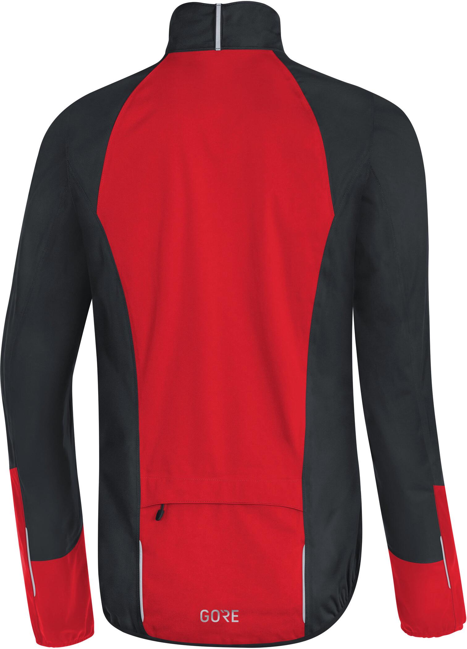 GORE WEAR C5 Gore Tex Active Jacket Herr blackred
