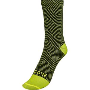 GORE WEAR C3 Optiline Mid-Cut Socken gelb/schwarz gelb/schwarz