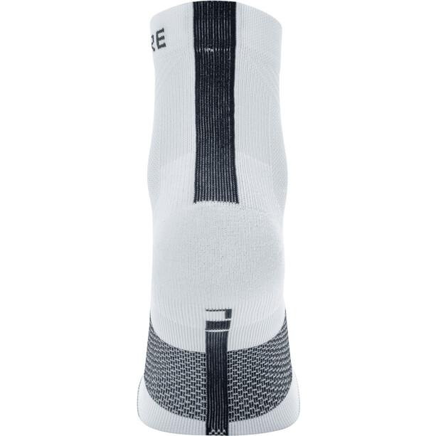 GORE WEAR R7 Mid-Cut Socken white/black