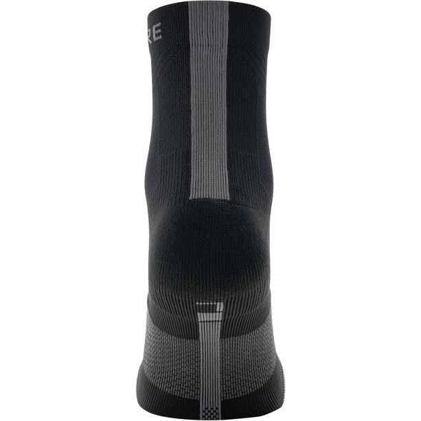 GORE WEAR R7 Mid-Cut Socken black/graphite grey