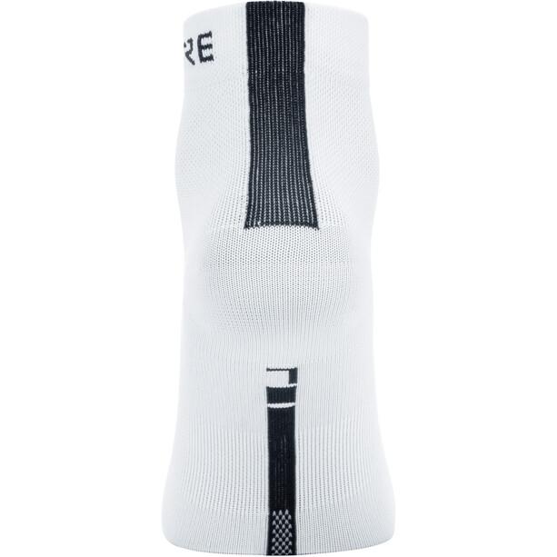 GORE WEAR M Light Mid-Cut Socken white/black
