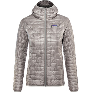 Patagonia Micro Puff Hoodie Women feather grey feather grey