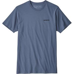 Patagonia P-6 Logo Organic T-Shirt Herren dolomite blue dolomite blue