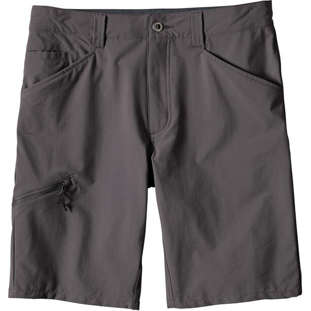 "Patagonia Quandary Shorts 10"" Herr forge grey"