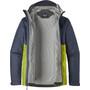 Patagonia Torrentshell Jacket Herr dolomite blue w/light gecko green
