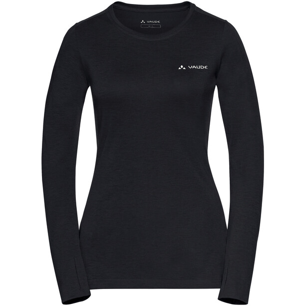 VAUDE Sveit LS Shirt Dam black