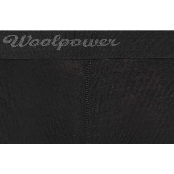 Woolpower Lite Long Johns Dam black