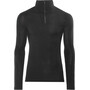 Woolpower Lite Zip Turtleneck black