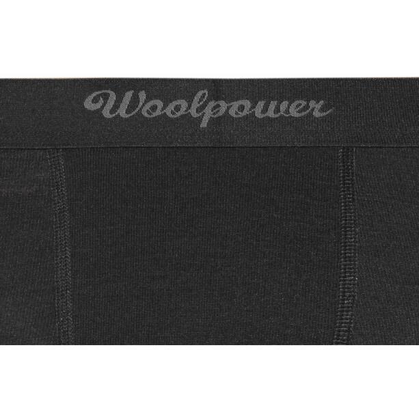 Woolpower Lite Boxers Xlong Men black
