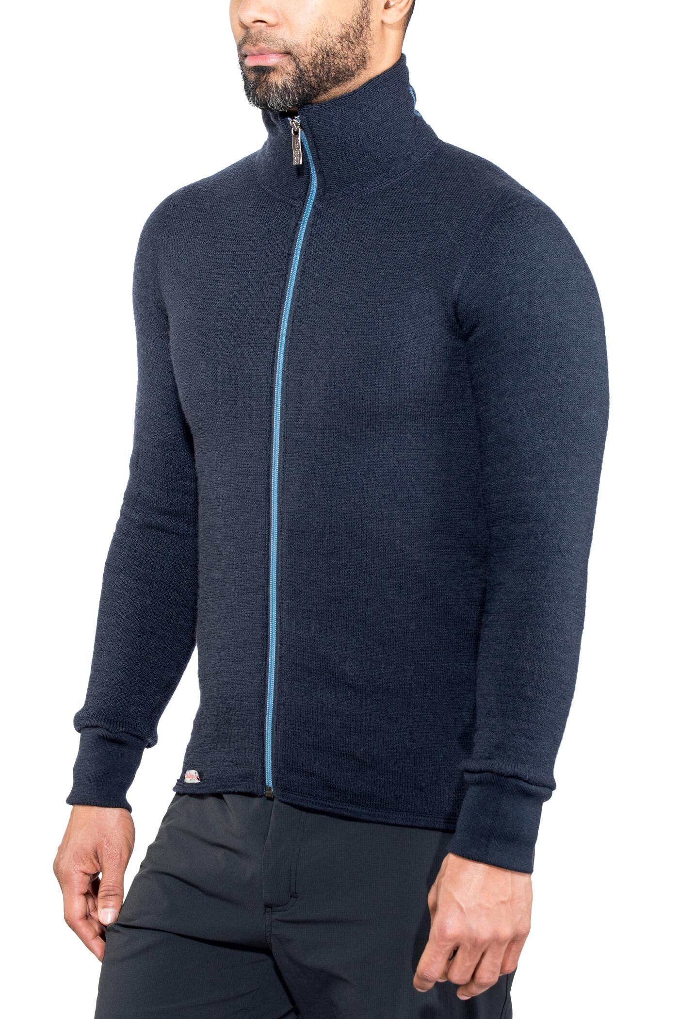 Woolpower 400 Full Zip Jacket Colour Collection dark navynordic blue