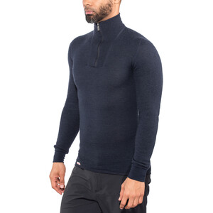 Woolpower 200 Zip Turtle Neck dark navy dark navy