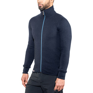Woolpower 400 Colour Collection Full-Zip Jacke dark navy/nordic blue dark navy/nordic blue