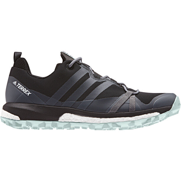 adidas TERREX Agravic Löparskor Dam core black/grey three/ash green