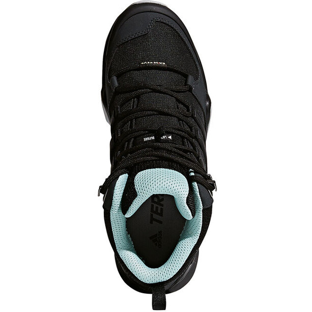 adidas TERREX Swift R2 Mid GTX Schuhe Damen core black/core black/ash green