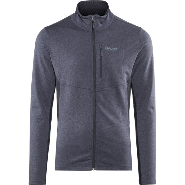 Bergans Fløyen Fleece Jacket Herr dark navy/dark steel blue