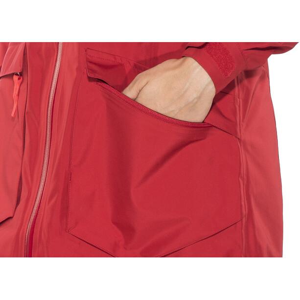 Bergans Hella Coat Dam red/strawberry