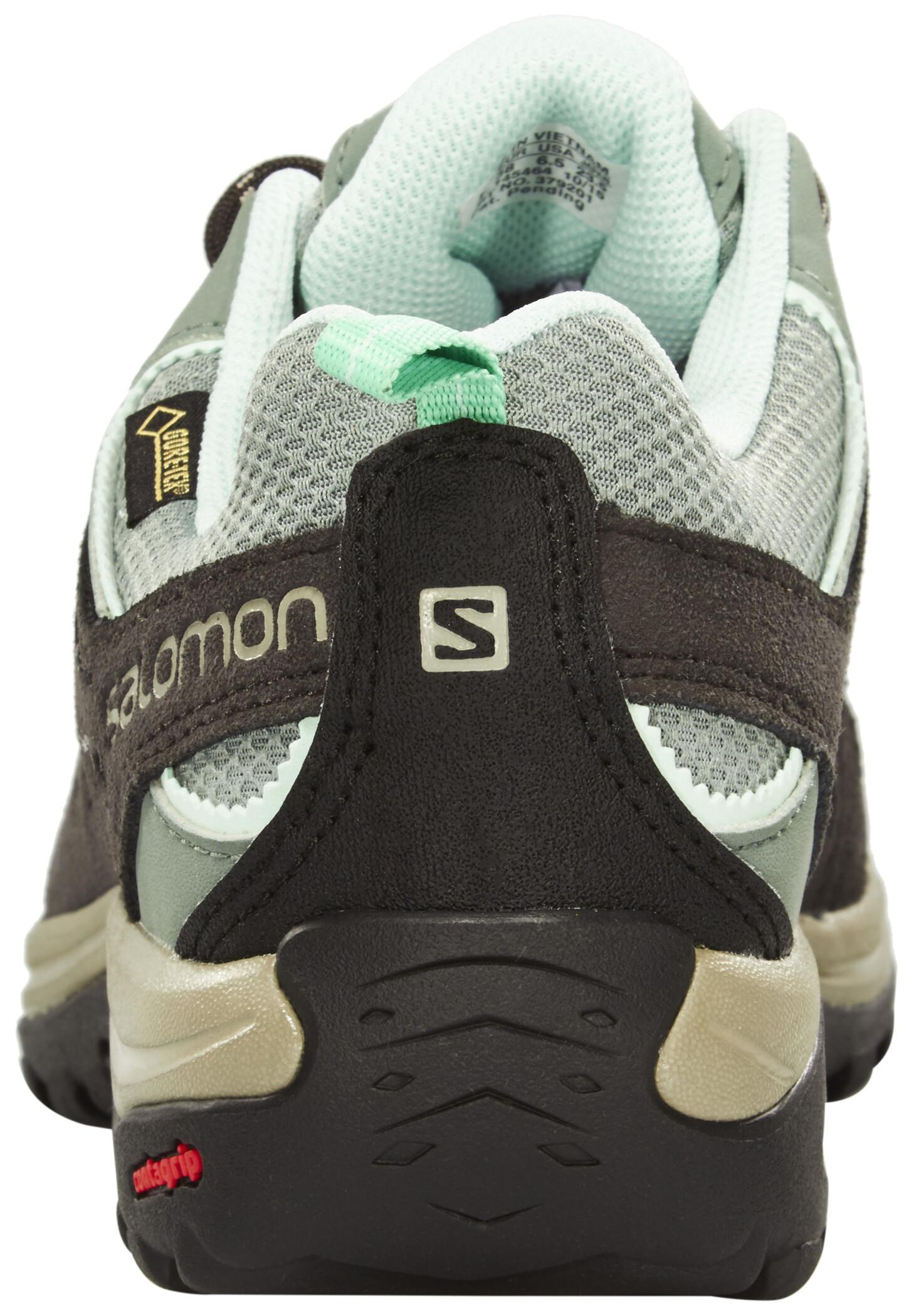 Salomon Ellipse 2 GTX Shoes Dam light ttasphaltjade green