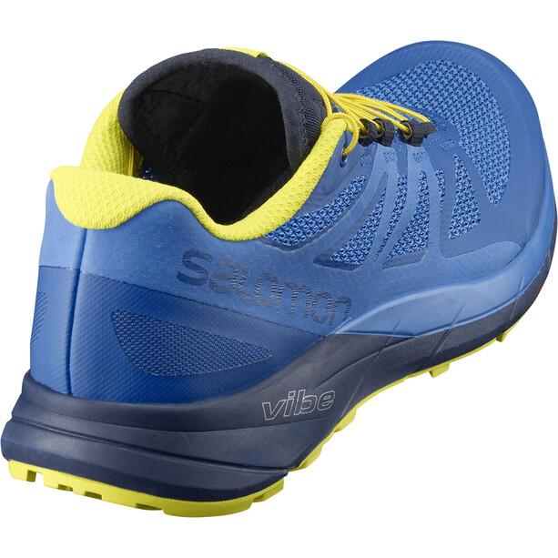 Salomon Sense Ride Shoes Herr snorkel blue/indigo bunting/sulphur spring