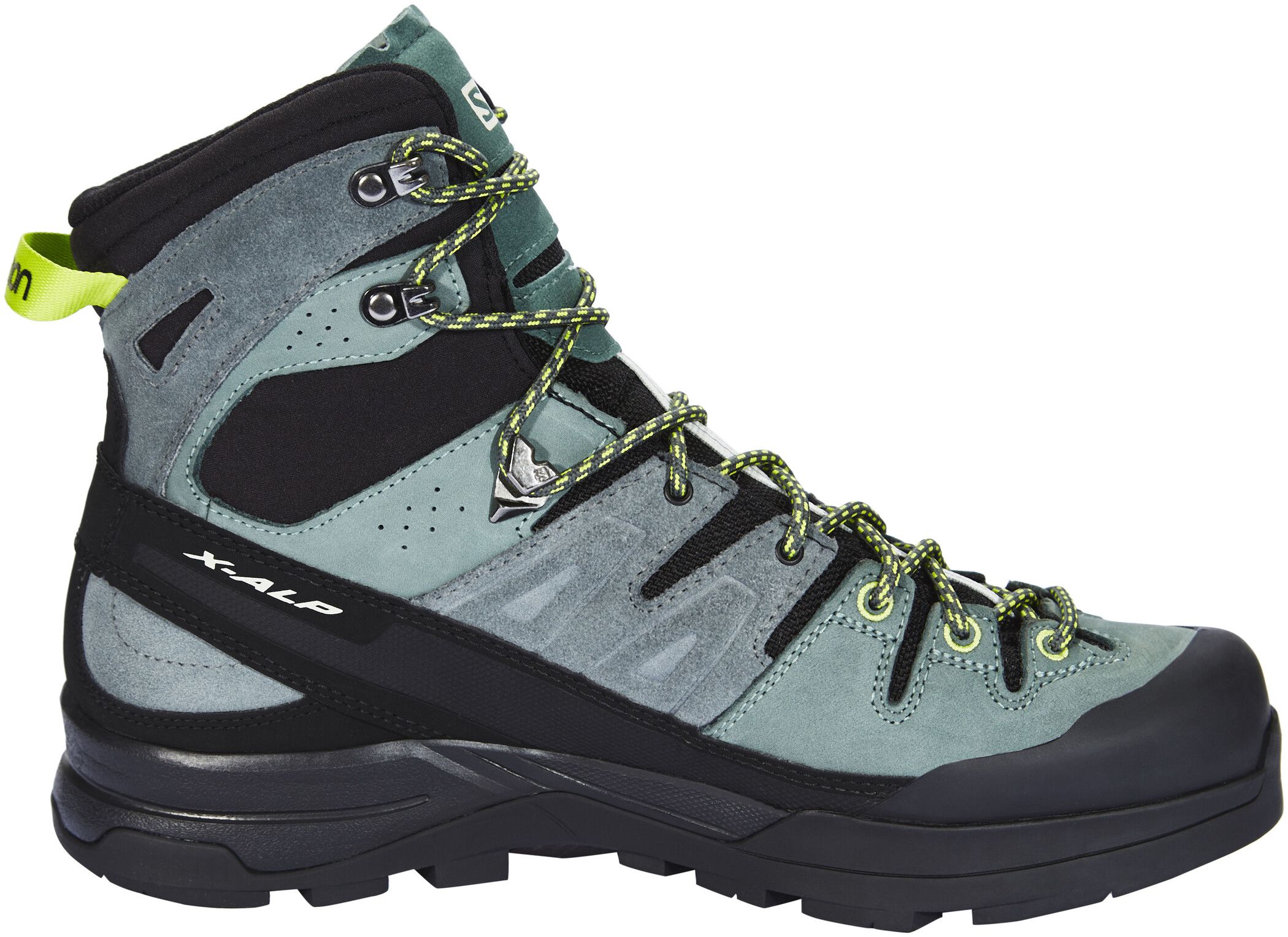 Salomon X Alp High LTR GTX Shoes Herr urban chicbalsam greenlime green