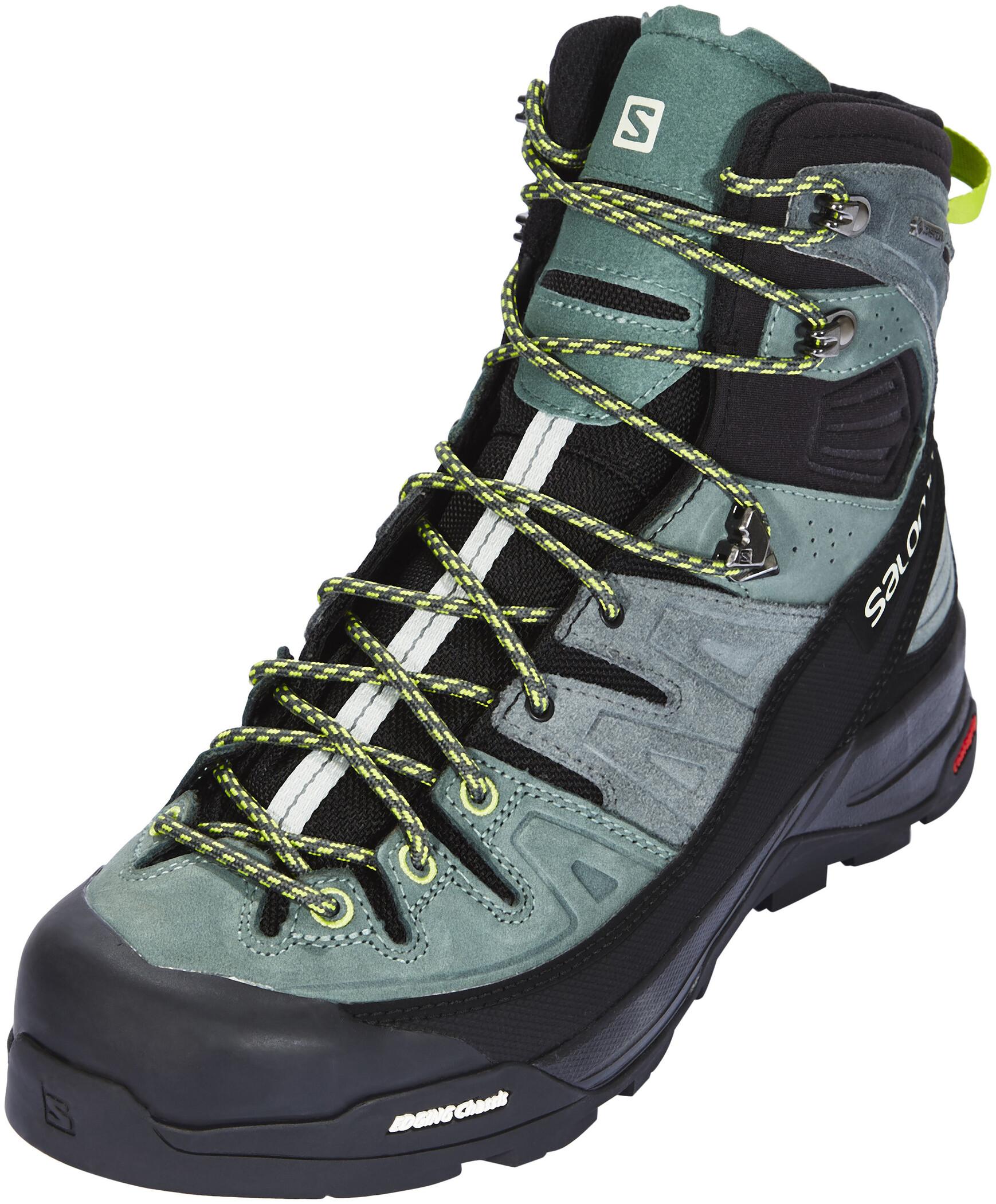 Salomon X Alp High LTR GTX Shoes Herr urban chicbalsam greenlime green