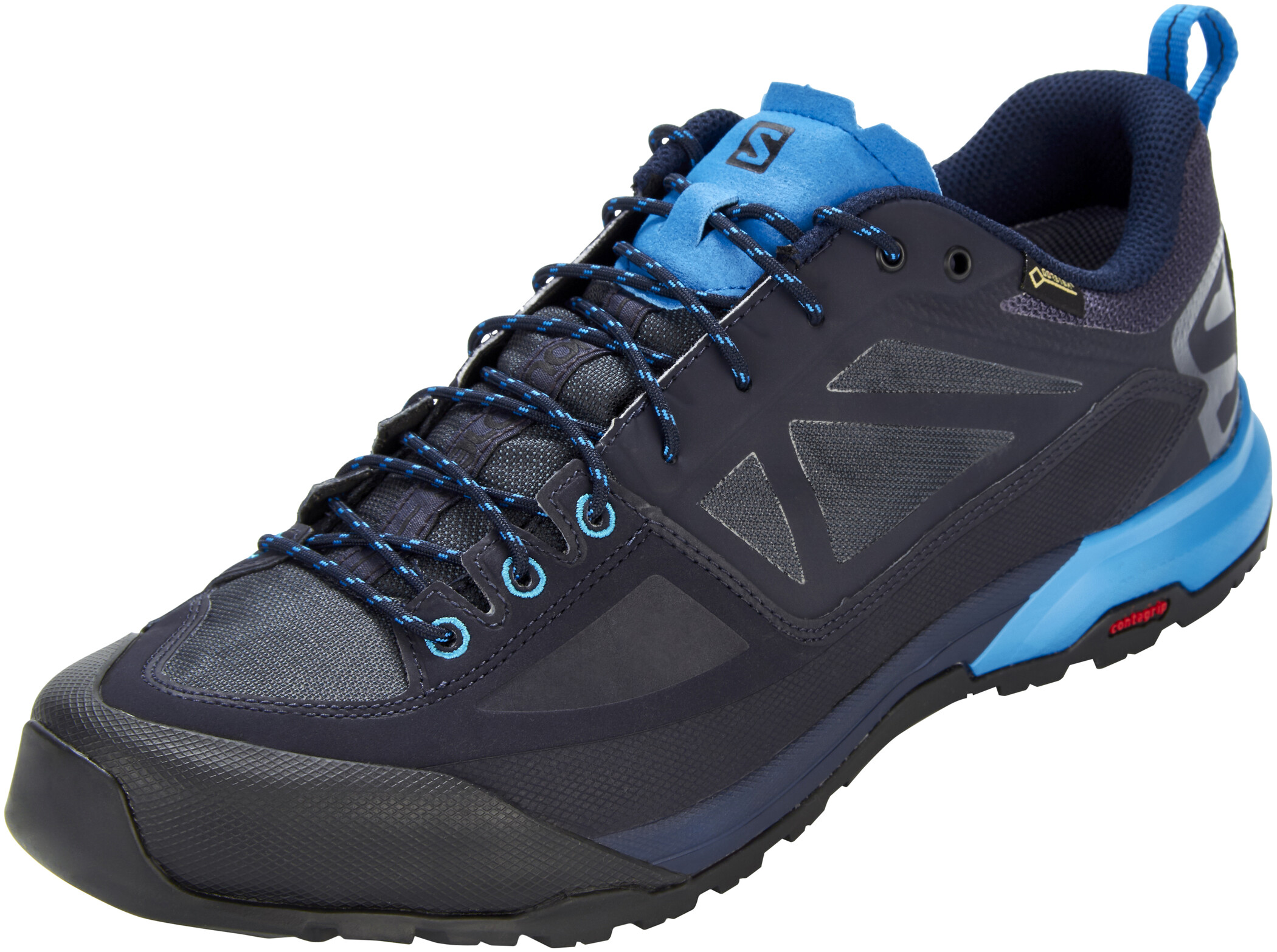 Salomon X Alp SPRY GTX Shoes Herr night skygraphiteindigo bunting