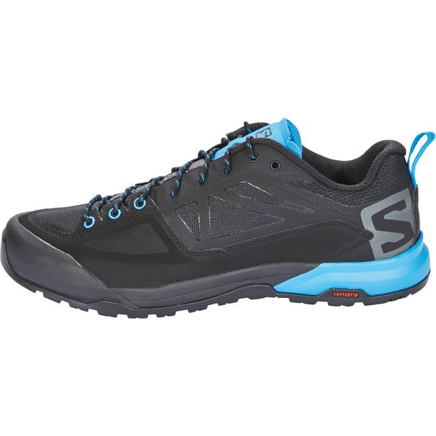 Salomon X Alp SPRY Shoes Herr black/magnet/hawaiian surf