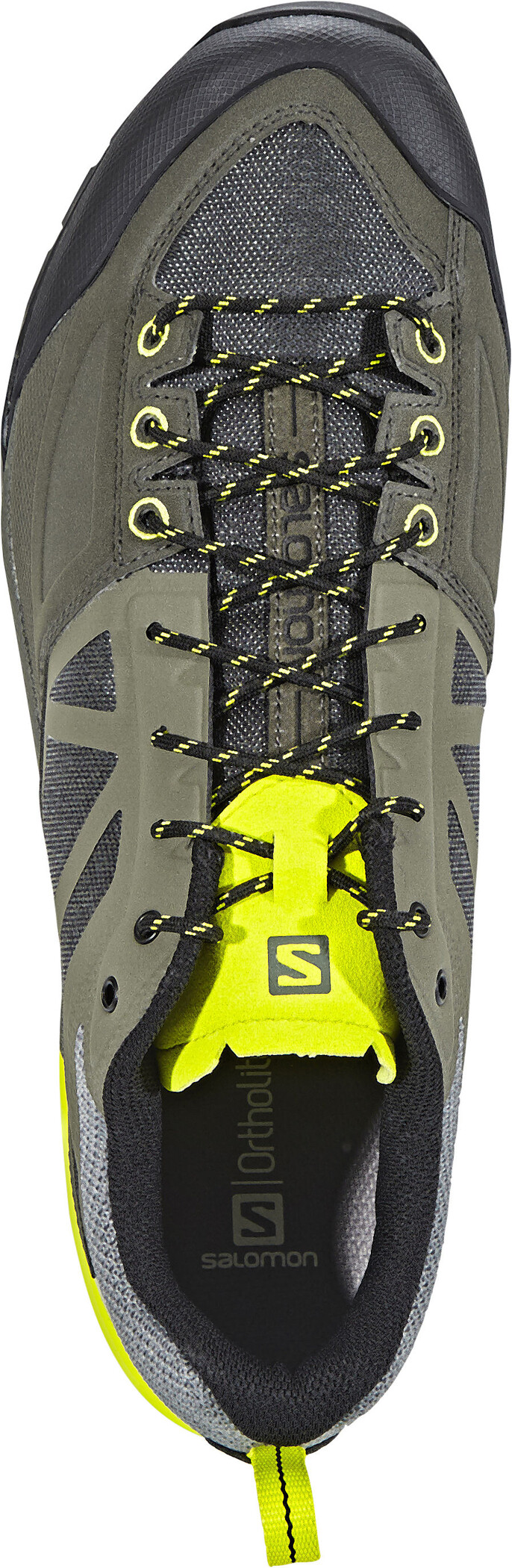 Salomon X Alp SPRY Shoes Herr castor graybelugalime punch