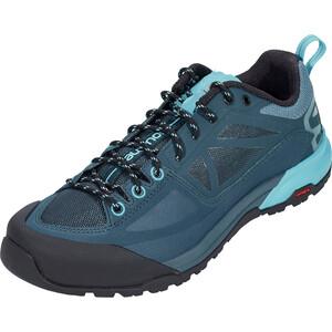 Salomon X Alp SPRY Shoes Dam mallard blue/reflecting pond/blue bird mallard blue/reflecting pond/blue bird