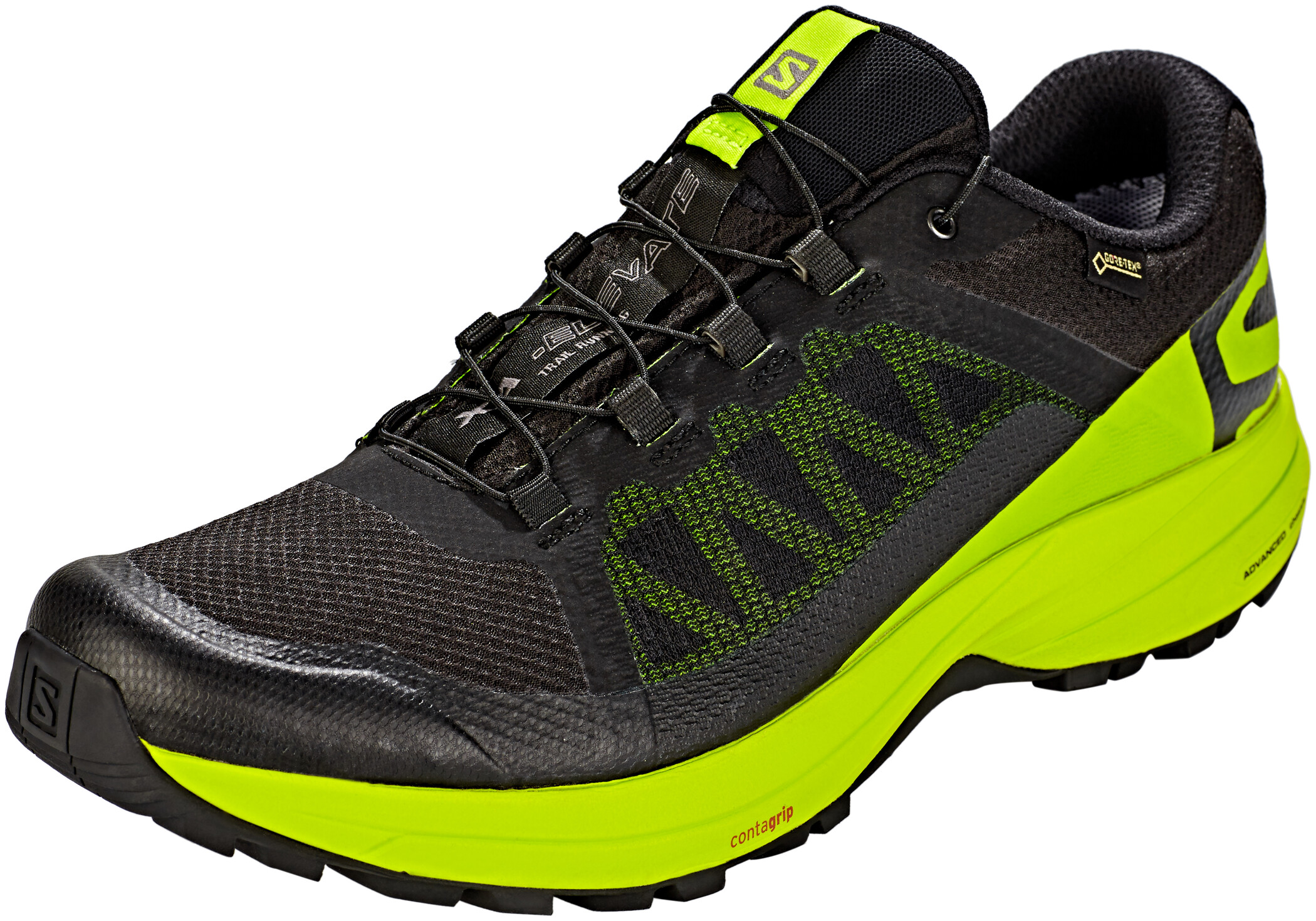 Salomon XA Elevate GTX Shoes Herr blacklime greenblack