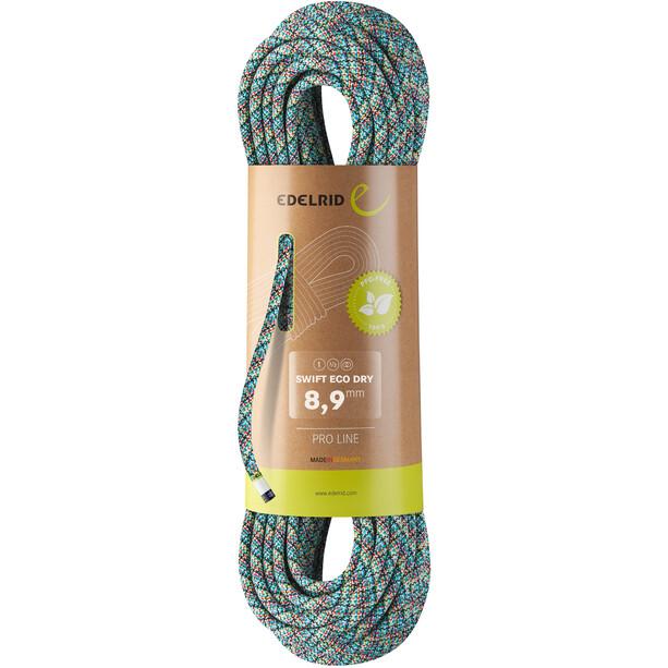 Edelrid Swift Plus Dry Seil 8,9mm x 60m bunt