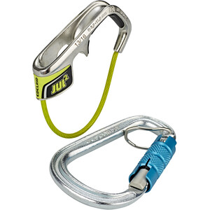 Edelrid Jul² Belay Kit with Steel Triple icemint icemint