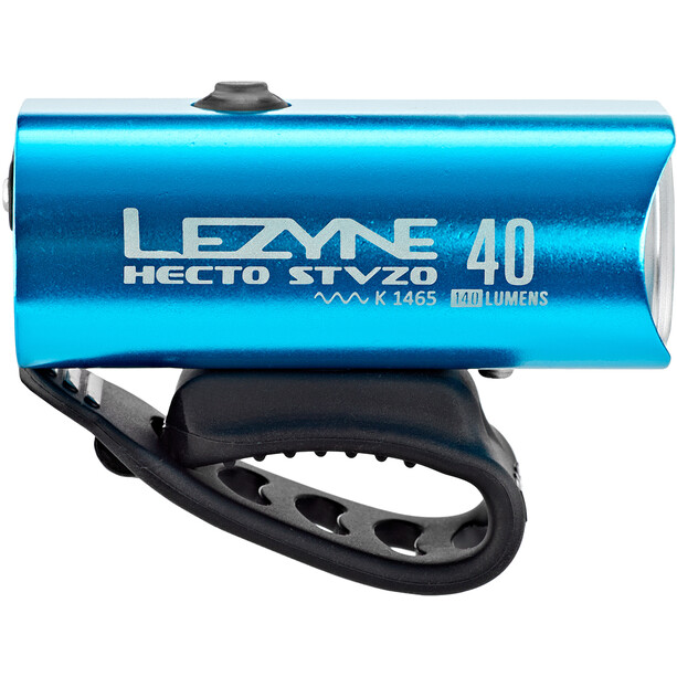 Lezyne Hecto Drive 40 Frontlicht StVZO Y11 blau-glänzend/weiß