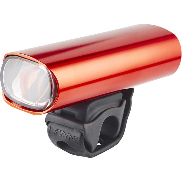 Lezyne Hecto Drive Pro 50 Frontlicht Y11 rot-glänzend/weiß