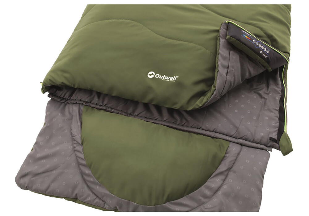 outwell contour supreme sleeping bag online kaufen. Black Bedroom Furniture Sets. Home Design Ideas