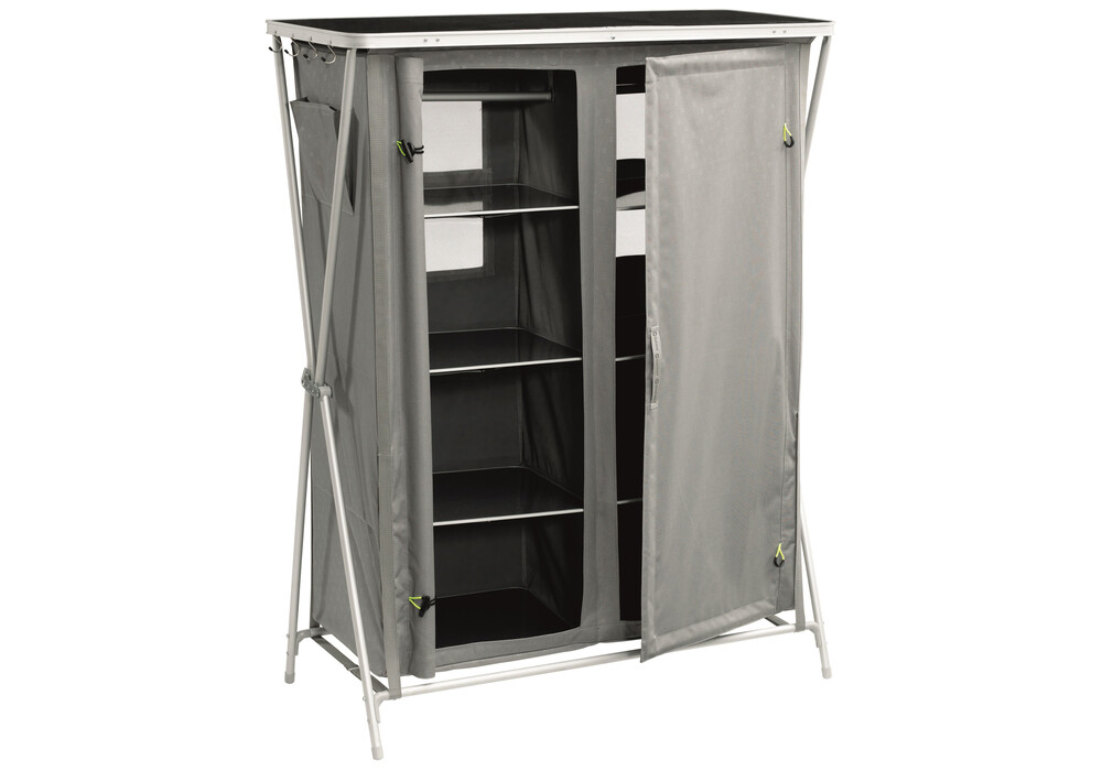 outwell martinique armoire de camping gris sur. Black Bedroom Furniture Sets. Home Design Ideas