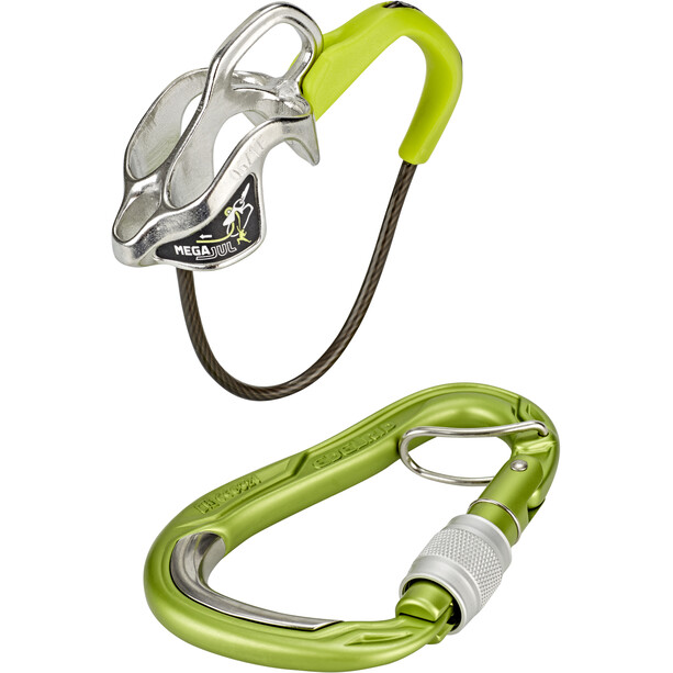 Edelrid Mega Jul Belay Kit with Bulletproof Screw oasis