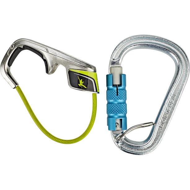 Edelrid Jul² Belay Kit with Steel Triple icemint