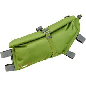 Acepac Roll Sacoche pour cadre de vélo L, vert vert