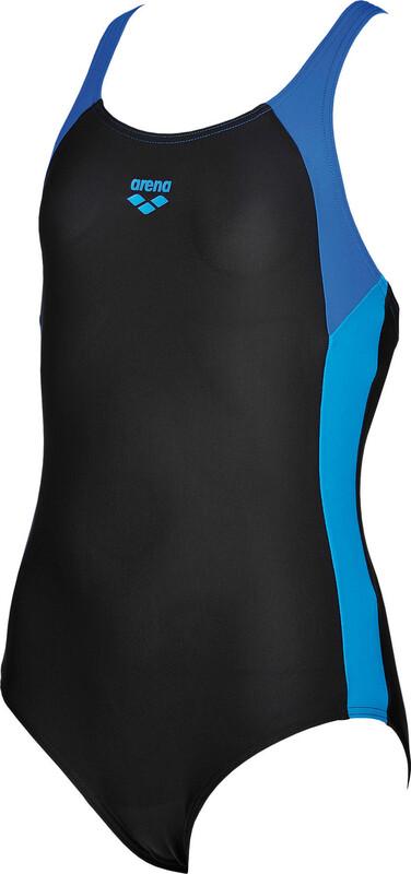 Ren One Piece Swimsuit Girls black-pix blue-turquoise 140 2019 Schwimmanzüge & Bikinis